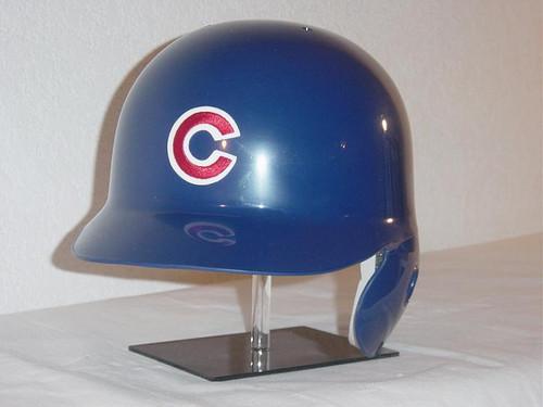 Chicago Cubs Blue Home Rawlings Classic LEC Full Size Baseball Batting Helmet