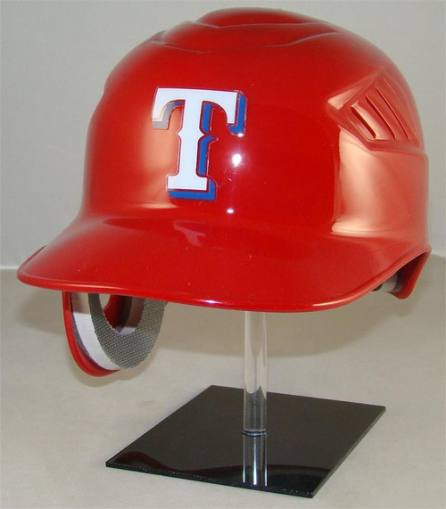 Texas Rangers RED Rawlings Coolflo REC Full Size Baseball Batting Helmet