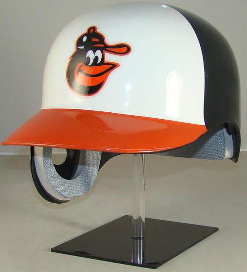 Baltimore Orioles Rawlings Throwback REC Full Size Baseball Batting Helmet