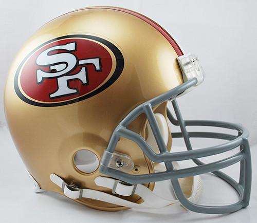 San Francisco 49ers Riddell Full Size Authentic Proline Helmet