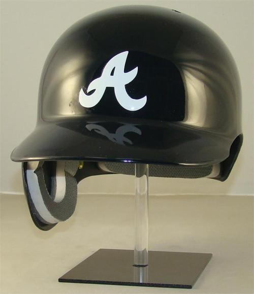Atlanta Braves Navy Blue Road Rawlings Classic REC Full Size Baseball Batting Helmet