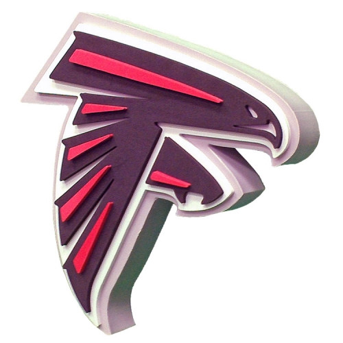 Atlanta Falcons 3D Fan Foam Logo Sign