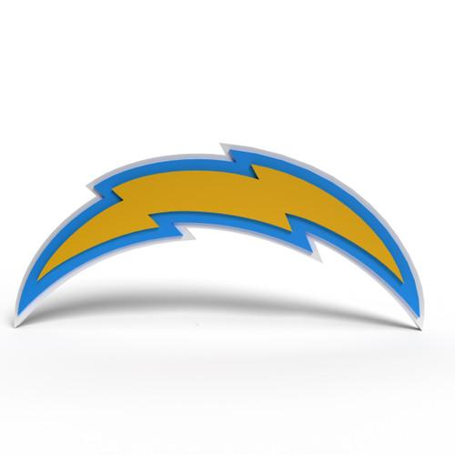 Los Angeles Chargers 3D Fan Foam Logo Sign