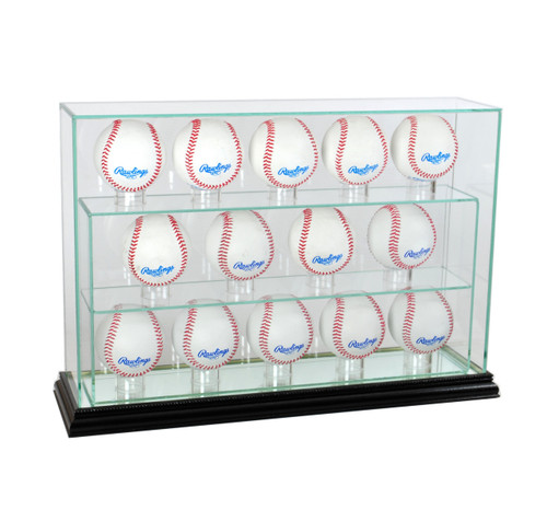 Deluxe Real Glass Fourteen UPRIGHT Display Case