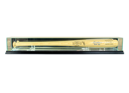 Deluxe Real Glass Baseball Bat Display Case
