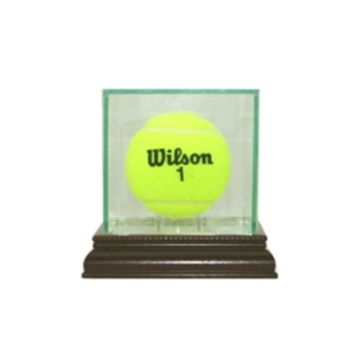 Deluxe Real Glass Tennis Ball Display Case