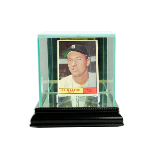 Deluxe Real Glass Single Card Display Case