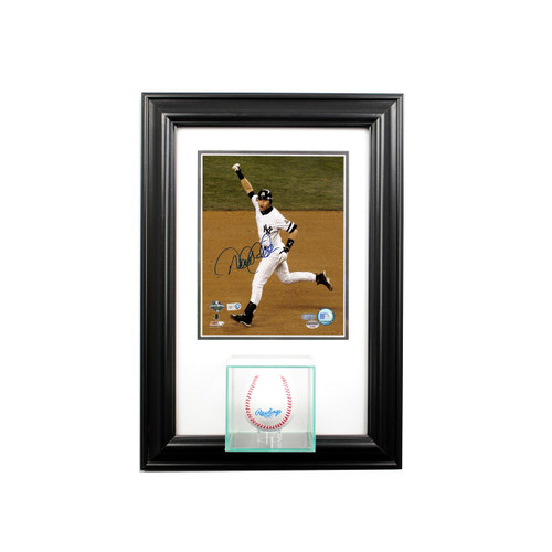 Deluxe Real Glass Wall Mounted Single Baseball 8 x 10 Display Case