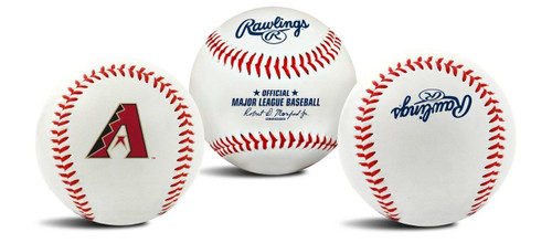 "Arizona Diamondbacks Rawlings ""The Original"" Team Logo Baseball"