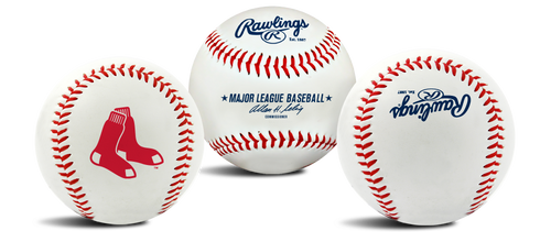 "Boston Red Sox Rawlings ""The Original"" Team Logo Baseball"