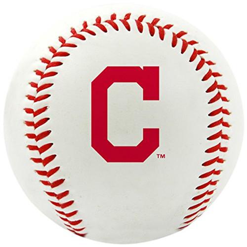"Cleveland Indians Rawlings ""The Original"" Team Logo Baseball"