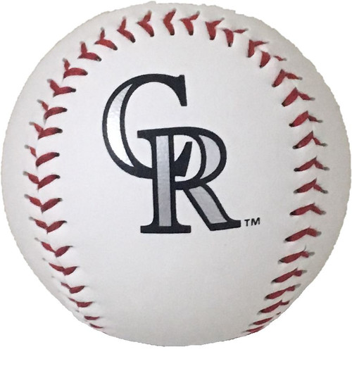 "Colorado Rockies Rawlings ""The Original"" Team Logo Baseball"