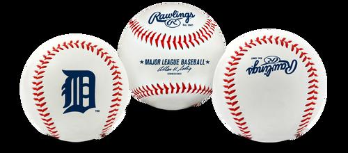 "Detroit Tigers Rawlings ""The Original"" Team Logo Baseball"