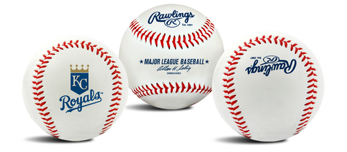 "Kansas City Royals Rawlings ""The Original"" Team Logo Baseball"