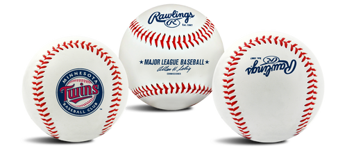 "Minnesota Twins Rawlings ""The Original"" Team Logo Baseball"