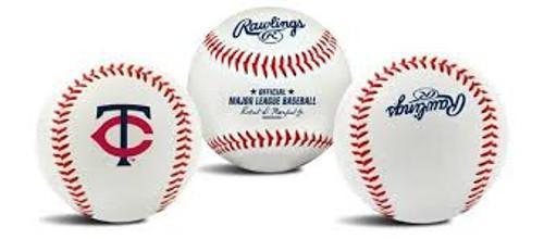 "Minnesota Twins Rawlings ""The Original"" Team Logo Baseball"