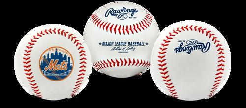 "New York Mets Rawlings ""The Original"" Team Logo Baseball"