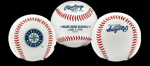 "Seattle Mariners Rawlings ""The Original"" Team Logo Baseball"