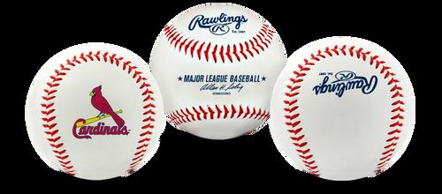 "St. Louis Cardinals Rawlings ""The Original"" Team Logo Baseball"