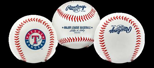 "Texas Rangers Rawlings ""The Original"" Team Logo Baseball"