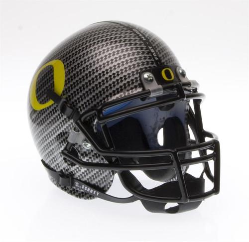Oregon Ducks Schutt SPECIAL CARBON FIBER Mini Authentic Helmet