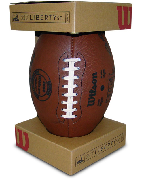 Wilson Official Duke 1941 to 1970 Throwback NFL Football F1250