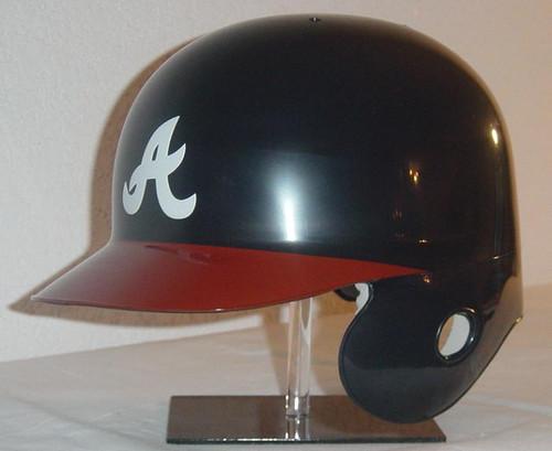 Atlanta Braves Navy/Red Home Rawlings Classic LEC Full Size Baseball Batting Helmet
