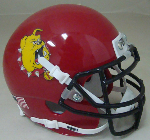 Ferris State Bulldogs Schutt Mini Authentic Football Helmet