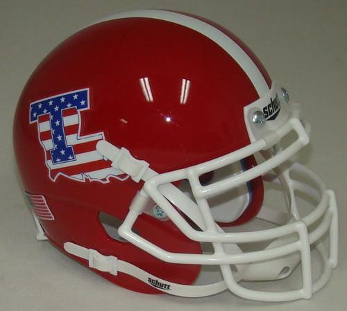 Louisiana Tech Bulldogs Alternate Schutt Mini Authentic Football Helmet