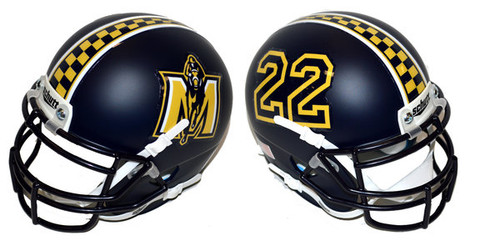 Murray State Racers Schutt Mini Authentic Football Helmet