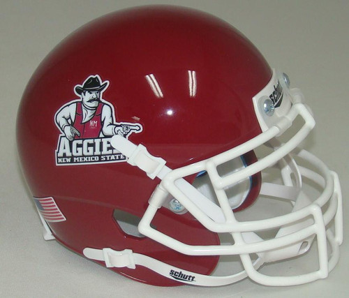 New Mexico State Aggies Schutt Mini Authentic Football Helmet