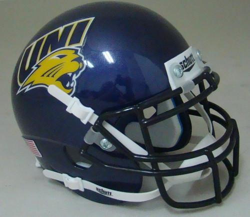 Northern Iowa Panthers Schutt Mini Authentic Football Helmet