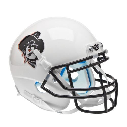 Oklahoma State Cowboys White Pistol Pete Schutt Mini Authentic Football Helmet
