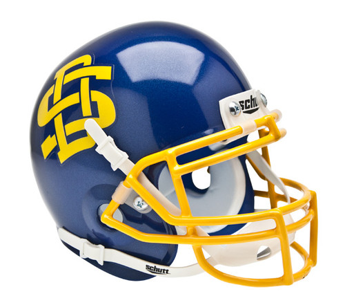 South Dakota State Jackrabbits Schutt Mini Authentic Football Helmet