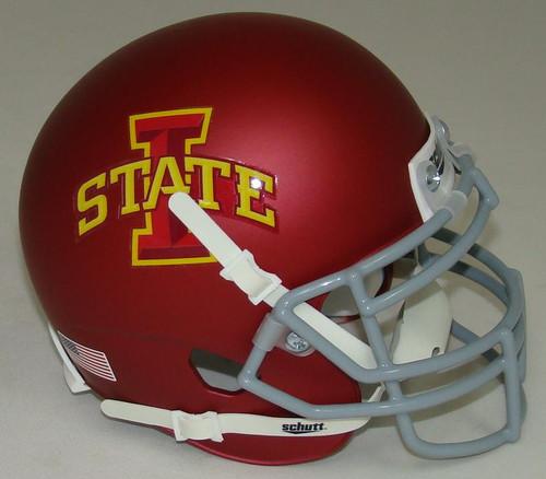 Iowa State Cyclones Alternate Matte Schutt Mini Authentic Football Helmet