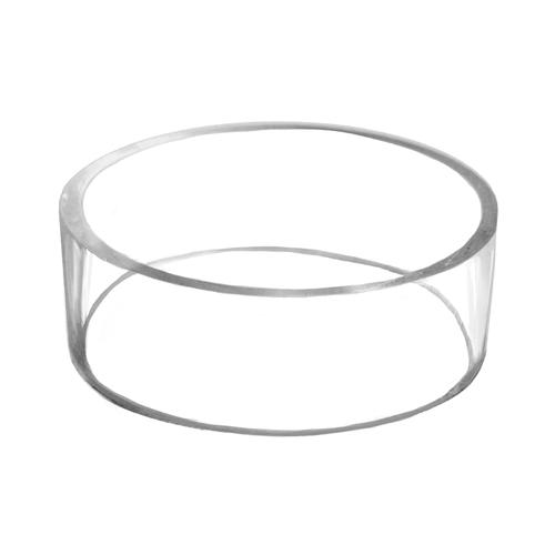 "Acrylic Plastic Molded 3"" Basketball, Football, Volleyball, Soccer, Softball Pedestal Display Stand Ring"