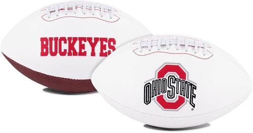 Signature Series NCAA Ohio State Buckeyes Autograph Full Size Football
