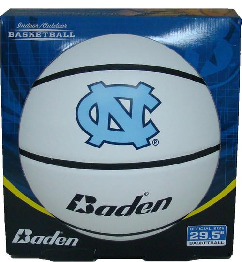 North Carolina Tar Heels Official Full Size Autograph Basketball by Baden