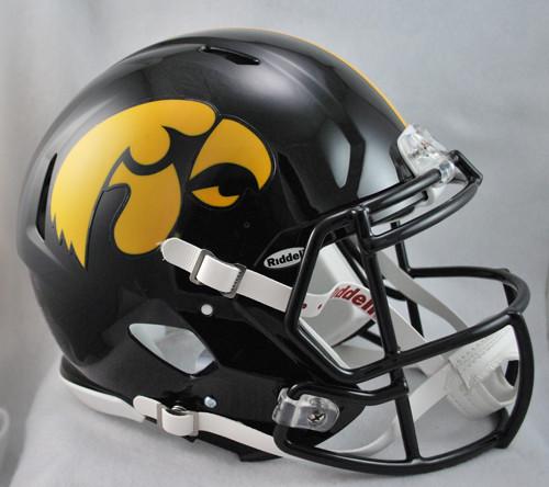 Iowa Hawkeyes NEW Riddell Full Size Authentic SPEED Helmet