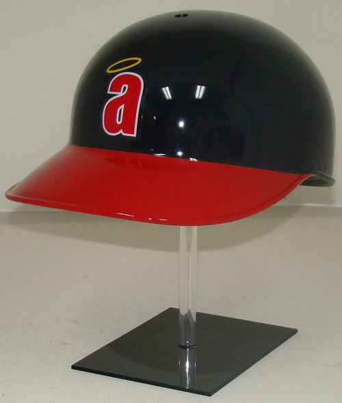 Angels Rawlings NEC Throwback Full Size Baseball Batting Helmet (Little a)