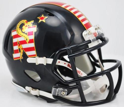 Navy Midshipmen 2014 Special Don't Tread On Me Alternate Riddell Mini Speed Football Helmet