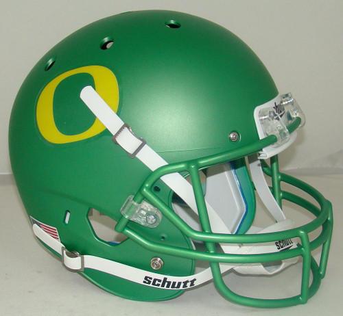Oregon Ducks Apple Green Alternate Schutt Full Size Replica XP Football Helmet