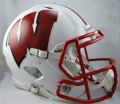 Wisconsin Badgers NEW Riddell Full Size Authentic SPEED Helmet