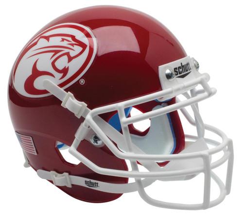 Houston Cougars Alternate Dark Red Schutt Mini Authentic Football Helmet