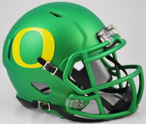 Oregon Ducks APPLE GREEN NCAA Riddell Speed Mini Helmet