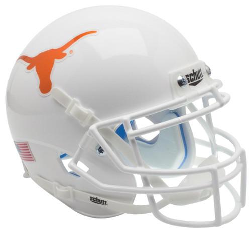 Texas Longhorns Alternate Chrome Schutt Mini Authentic Football Helmet