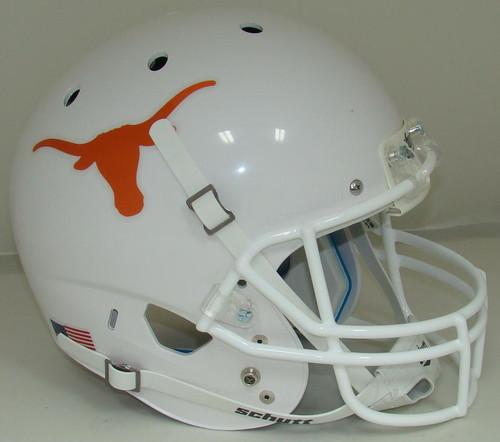 Texas Longhorns Alternate Schutt Full Size Replica XP Football Helmet