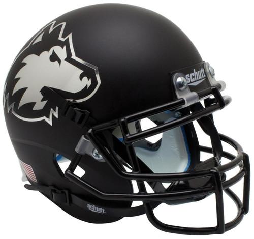 Northern Illinois Huskies Alternate Matte Black Schutt Mini Authentic Football Helmet