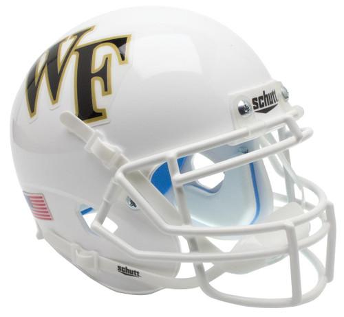 Wake Forest Demon Deacons Alternate White Schutt Mini Authentic Football Helmet