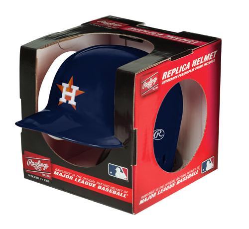 Houston Astros MLB Rawlings Replica MLB Baseball Mini Helmet